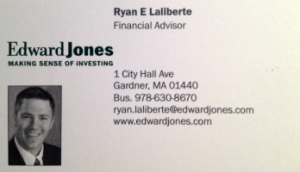Ryan Laliberte, Edward Jones | Member of North Central Referral Group
