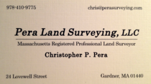 Pera Land Surveying | Member of North Central Referral Group