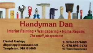 Handyman Dan | Member of North Central Referral Group